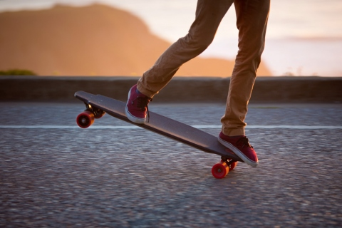 Top of the Line Electric Skateboards Picture